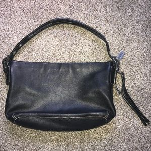 COACH shoulder bag in black leather